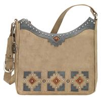 ZSold American West Handbag Annie's Secret Collection: Concealed Carry Leather Shoulder Sand
